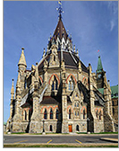Library of Parliament. Photo by Wladyslaw, used CC BY-SA 3.0
