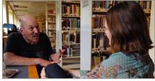 Elissa Hardy, Denver Public Library's community resource specialist