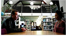 Shetland Library appears as a location on the BBC series Shetland