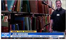 Joe Miesner, access services librarian, San Diego Public Library