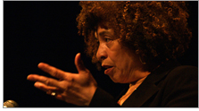 Angela Y. Davis at the University of Alberta, March 28, 2006. Photo by Nick Wiebe.