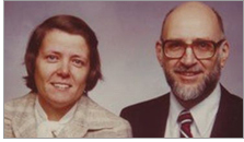 Elaine (left) and Larry Lange left $5.5 million to the Shorewood (Wisc.) Public Library in their will. They both died in 2018.
