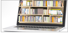 Library in a laptop