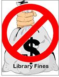 No library fines