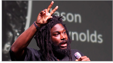 Jason Reynolds (Photo: Rebecca Lomax/American Libraries)