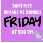 Humans vs. Zombies event at Willmar (Minn.) Public Library