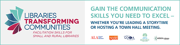 Webinar for small and rural libraries